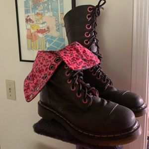 Dr. Martin lace up boots
